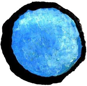 Bulle bleue